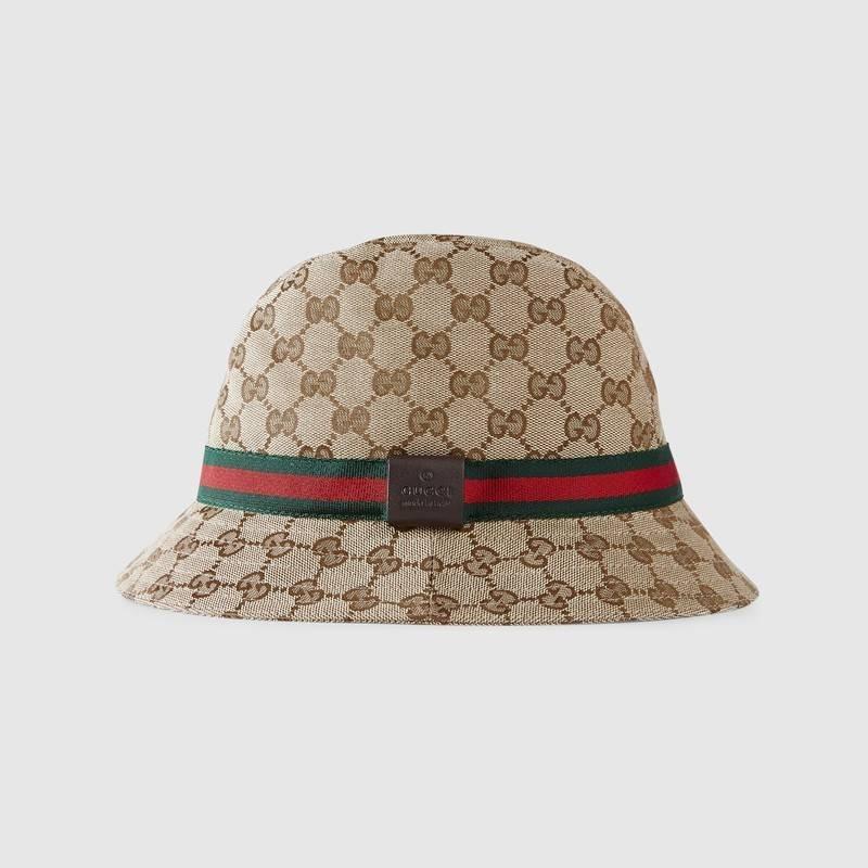 Chapéu Bucket Hat Gucci Original - R  150 bf4fa23f721