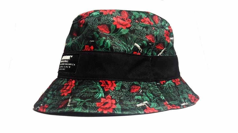 66d1bbdf9ec24 chapéu bucket hats chronic floral pistolas original - oferta. Carregando  zoom.