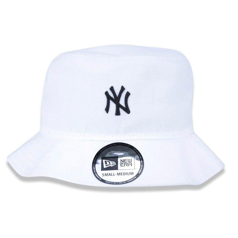 c6c68cd2a9b72 Chapéu Bucket New York Yankees Mlb Ny P m Branco - New Era - R  165 ...