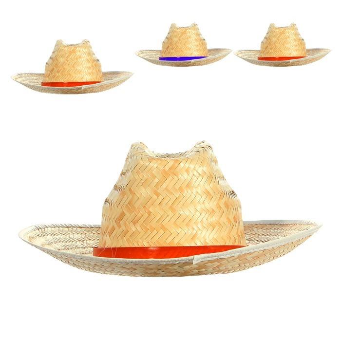 Chapéu Caipira Brasil Cowboy - Festa Junina - R  9 679a2c47805