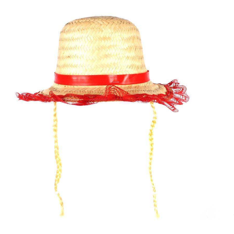 823604d31d279 chapéu caipira infantil feminino com tranças loiras. Carregando zoom.