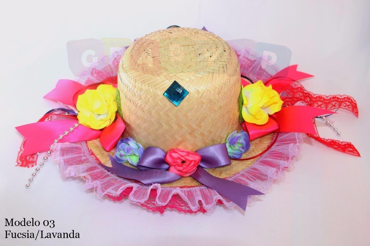chapéu caipira junino infantil luxo quadrilha festa junina. Carregando zoom. 1ff1709323a