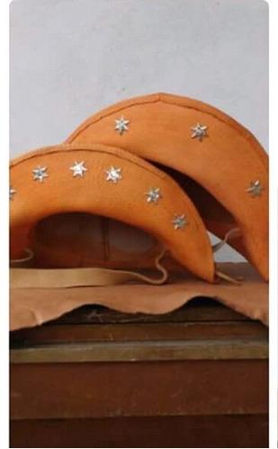 chapéu cangaceiro couro luiz gonzaga dominguinhos