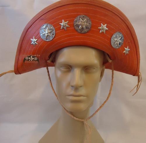 chapéu cangaceiro lampião luiz gonzaga - couro exclusivo