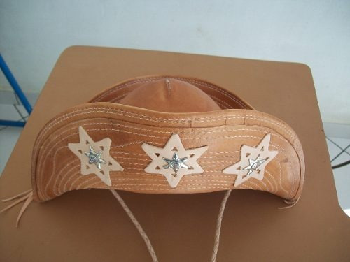 chapeu cangaceiro - luiz gonzaga - em couro