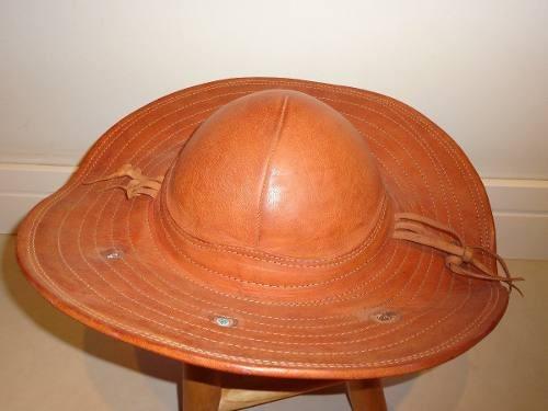 chapeu cangaceiro- luiz gonzaga em couro puro