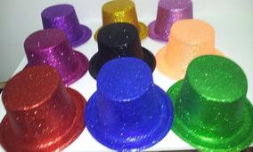 b3a3bbebfa5def Chapéu Cartola Baixa Com Glitter 20 Unidades Sortidos