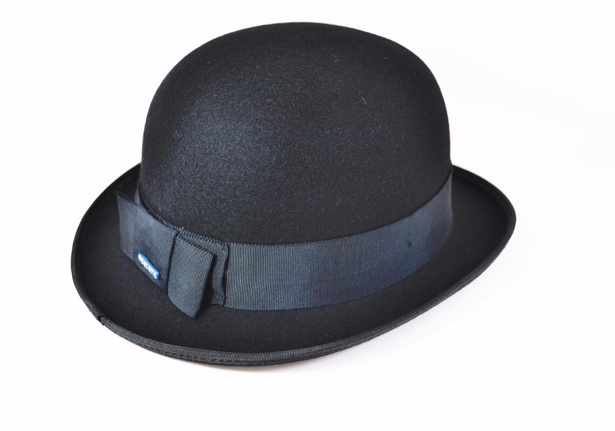chapéu chaplin bowler coco preto - modelo ingles. Carregando zoom. 3fe06c3aa70