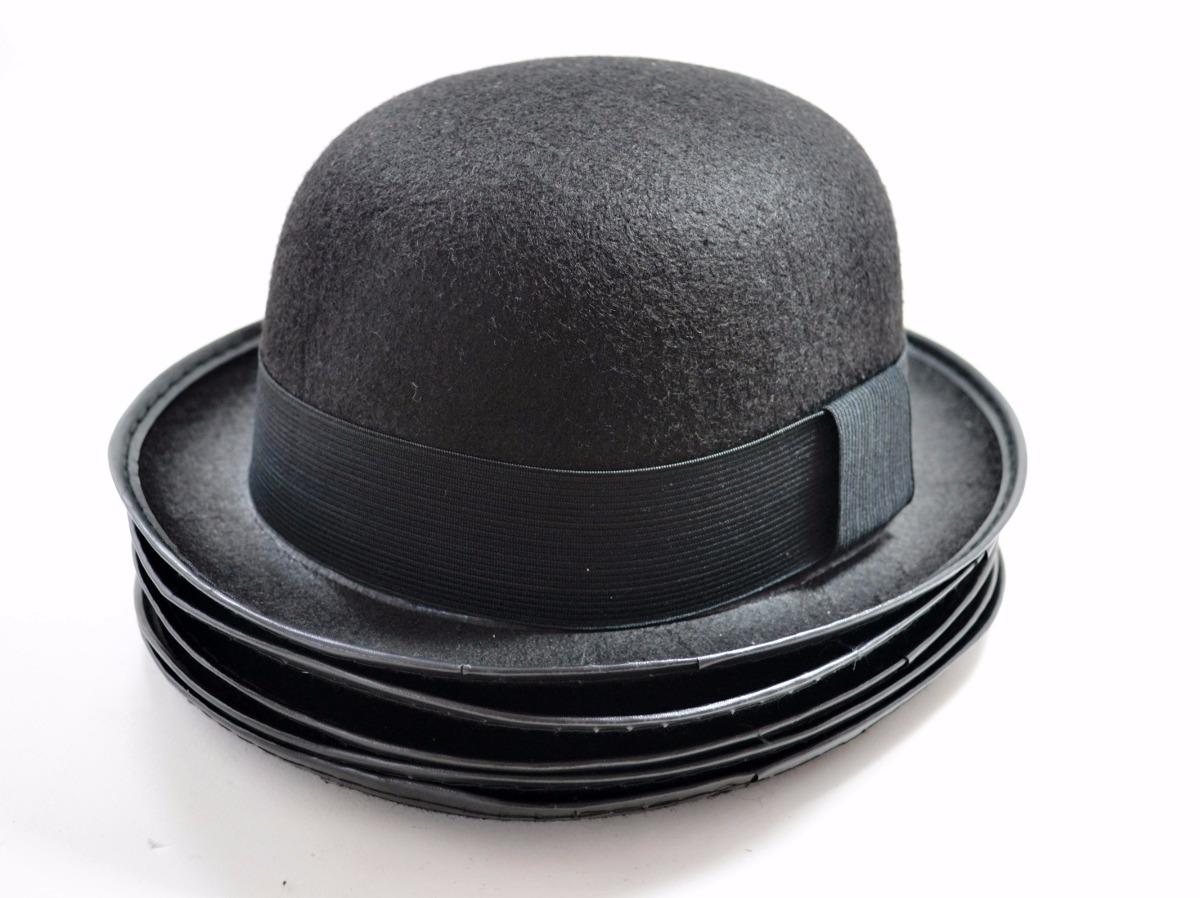 chapéu chaplin bowler coco - preto - promoção. Carregando zoom. 95e9f7ca41e