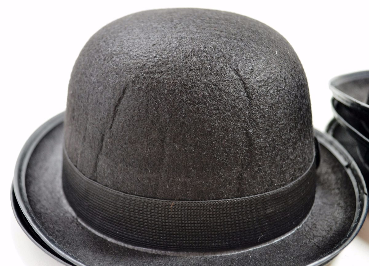 chapéu chaplin bowler coco - preto - promoção. Carregando zoom. bd2b5abe3a1