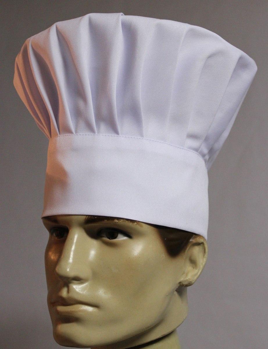 chapéu chef branco gastronomia cozinha mestre cuca touca. Carregando zoom. 71a6462ab82