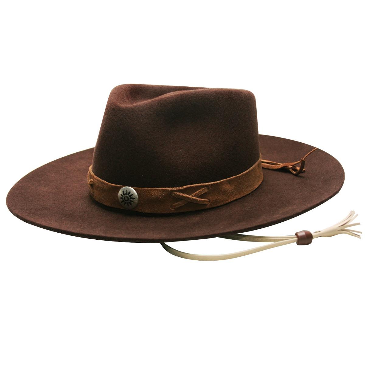 chapéu classic laçador ii -marrom-tamanho 60. Carregando zoom. c8f78789b8e