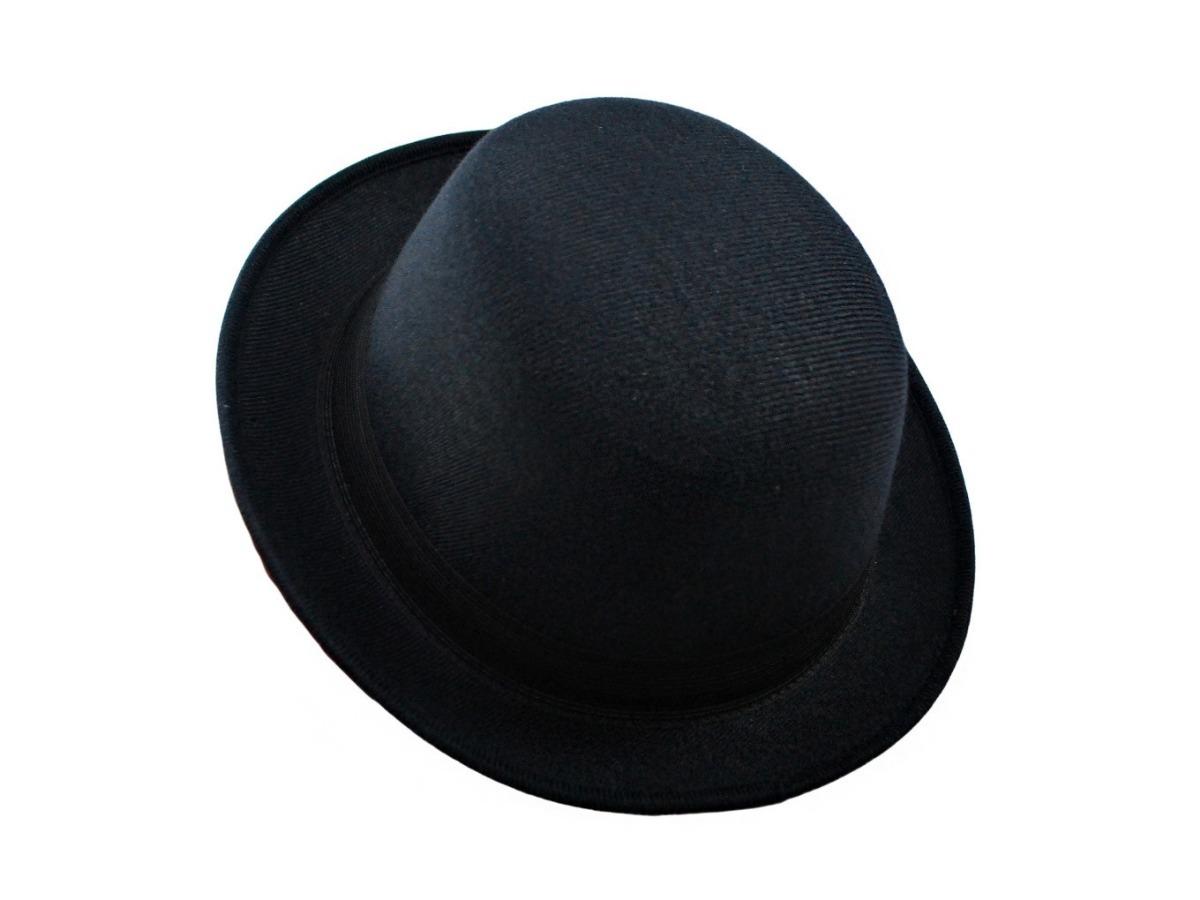 chapéu coco bowler chaplin preto feltro ótima qualidade. Carregando zoom. bc29ca49f54