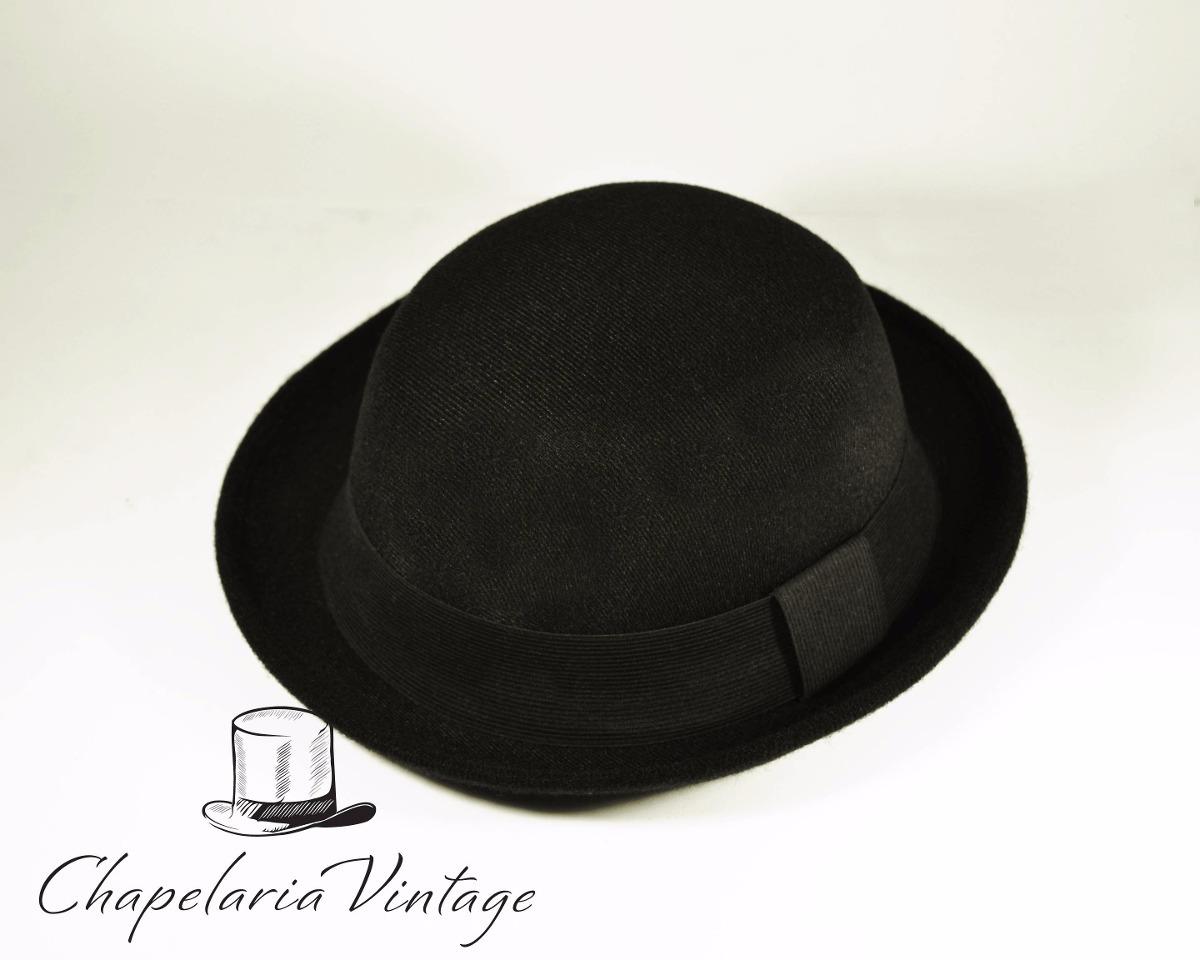566ee9f27ba05 chapéu coco charlie chaplin preto unisex masculino feminino. Carregando zoom .