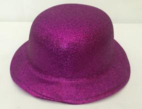 d1c02ae24a Chapeu Coquinho Com Glitter Preto - Artigos para Festas no Mercado Livre  Brasil