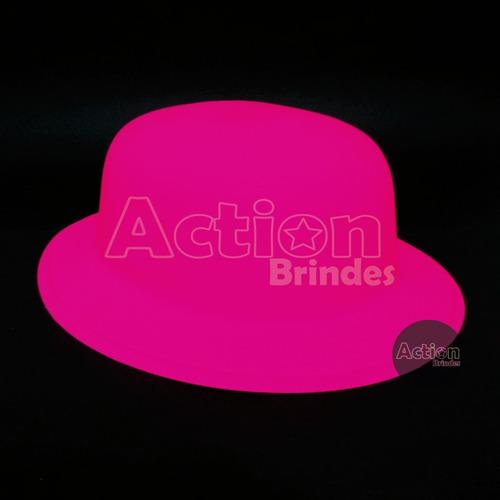 chapéu coquinho neon para festas - kit 12 unidades