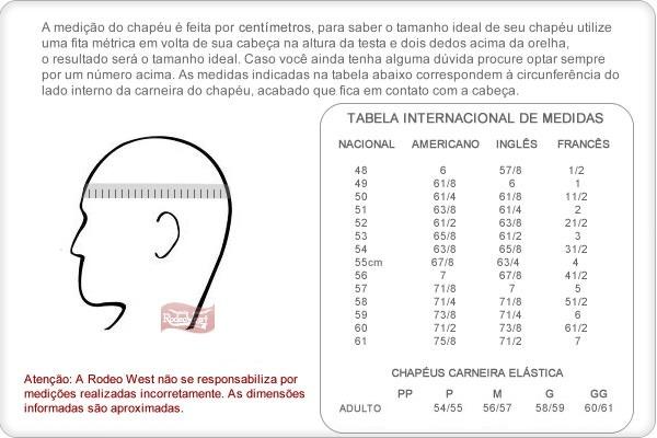 Chapéu Country Americano Branco - Mundial 18859 - R  108 de9133289ed