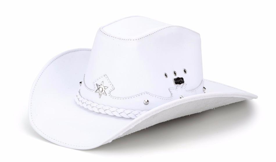 chapéu country americano masculino 100% couro texas capelli. Carregando zoom . 6dcc23aa8eb