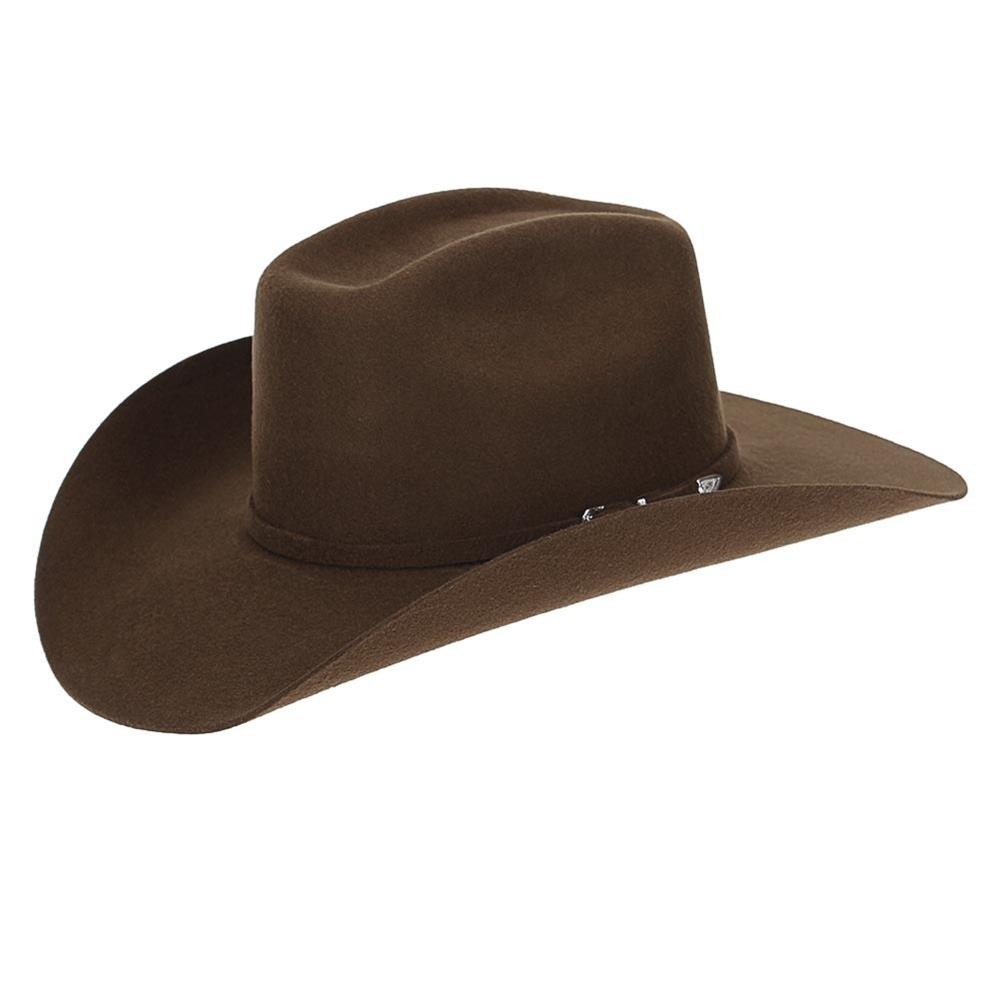 chapéu country australiano marrom masculino feminino rodeio. Carregando  zoom. a16ba12bdd5