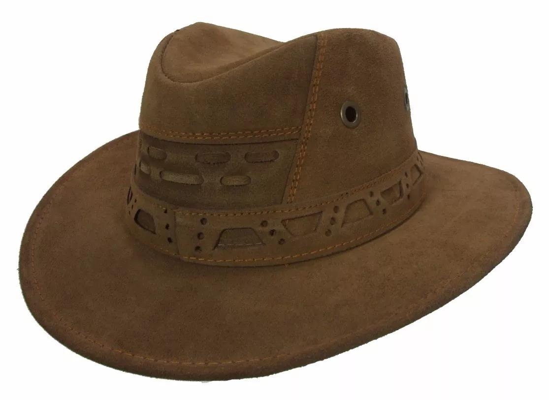 chapéu country boiadeiro cowboy couro. Carregando zoom. f4ffd6825c7