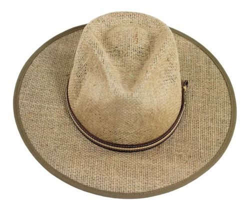 chapéu country campeiro juta