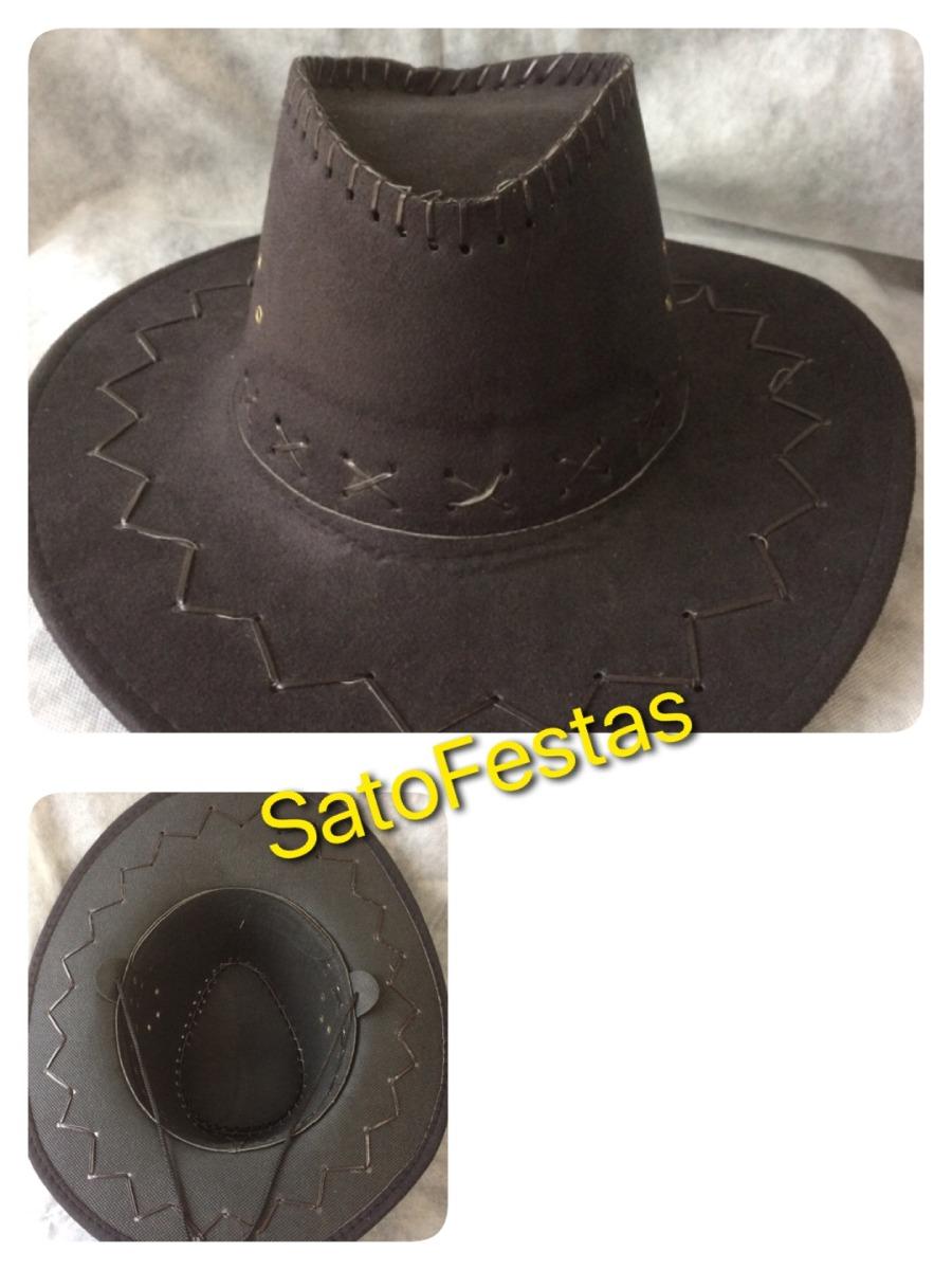 chapeu country cowboy sintético preto festa. Carregando zoom. adecfbf23fa