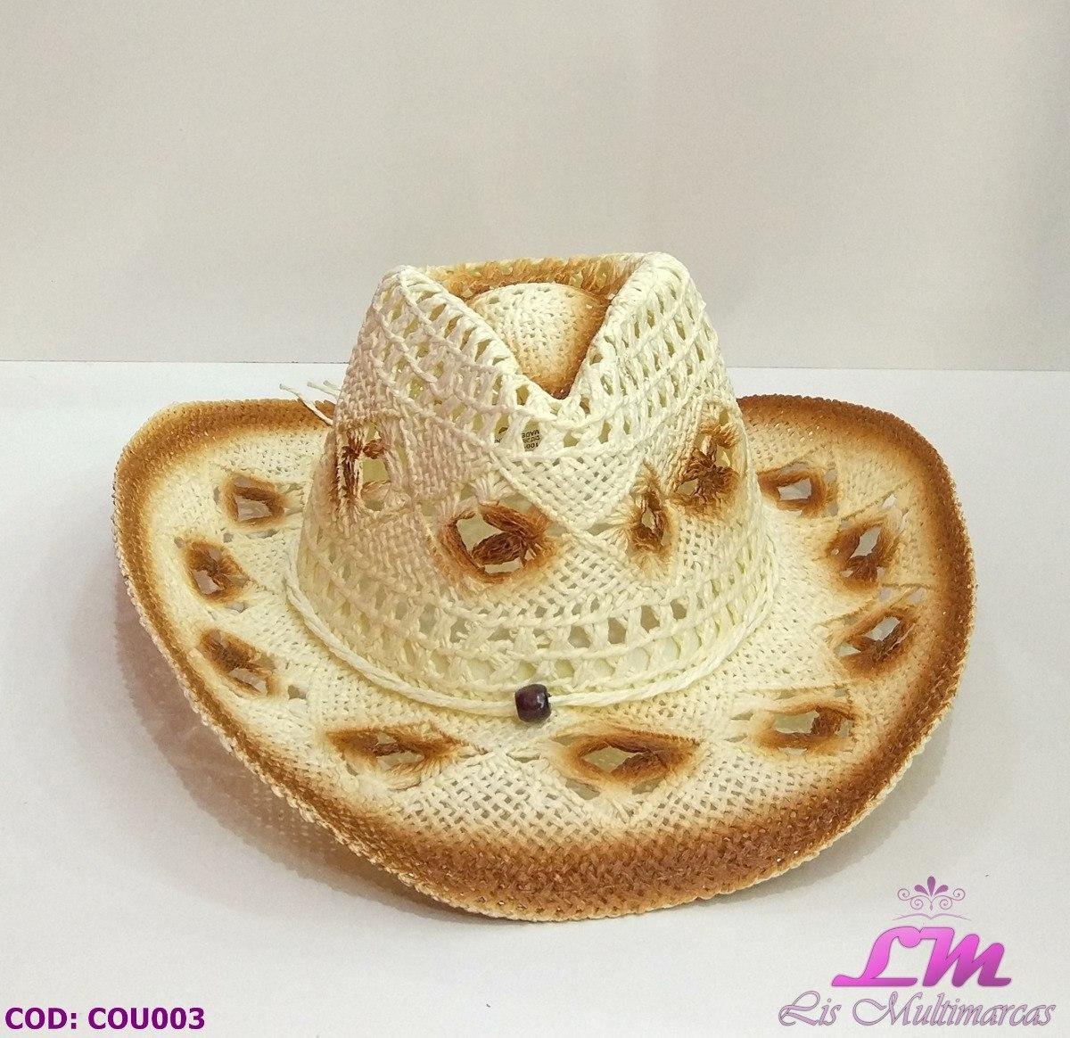Chapéu Country Feminino - Bege (sertanejo c19c95180e1