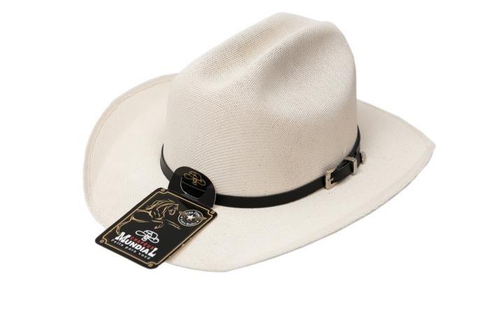 Chapéu Country Infantil Americano Lona Branco - R  85 4132dfaf318