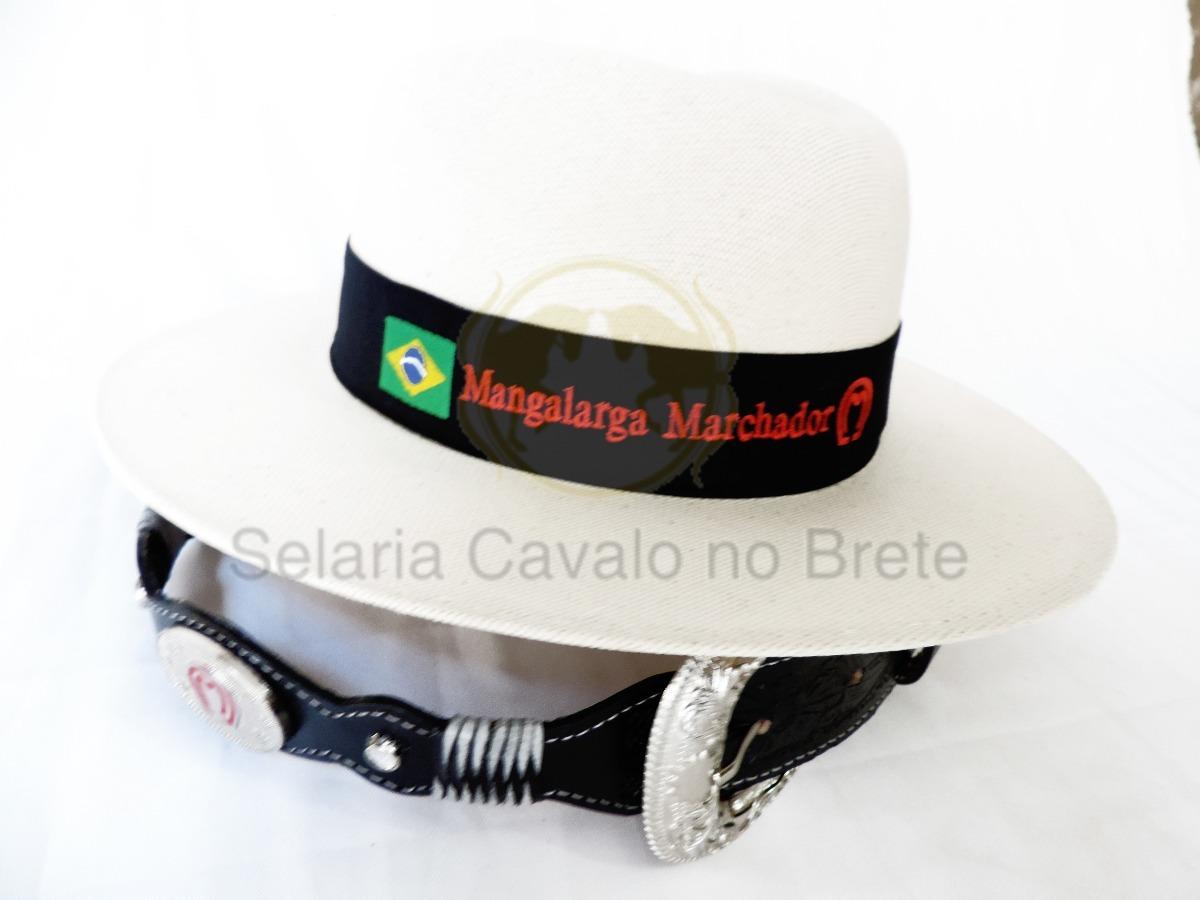 chapéu country mangalarga + cinto de couro oferta. Carregando zoom. 56e3d9059c2