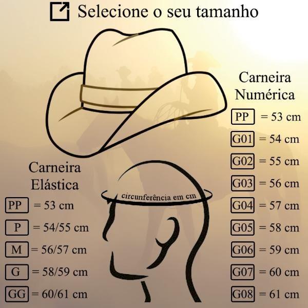 a04d5d9b53 Chapéu Country Marrom Sertanejo Masculino Feminino Praia - R$ 125,50 ...