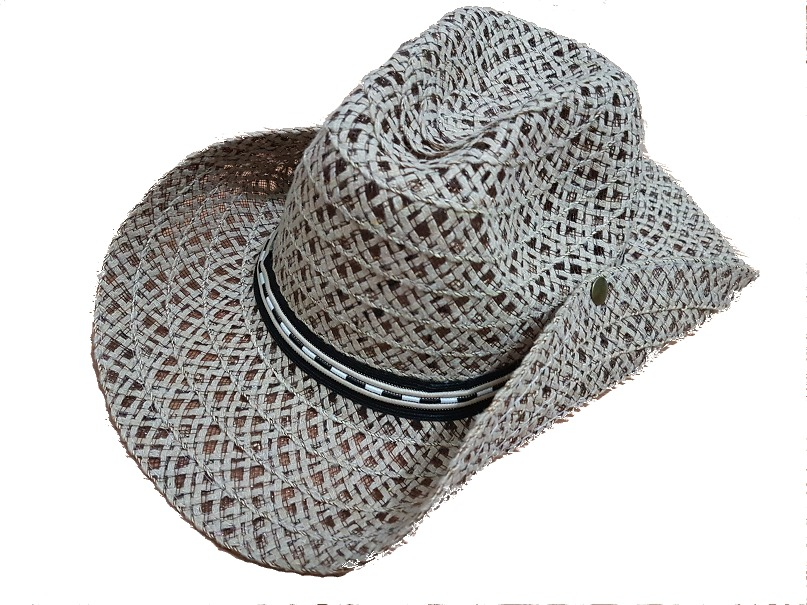 566cdabe282aa Chapeu Country Palha Sintetica Rodeio Festa - R  14,90 em Mercado Livre