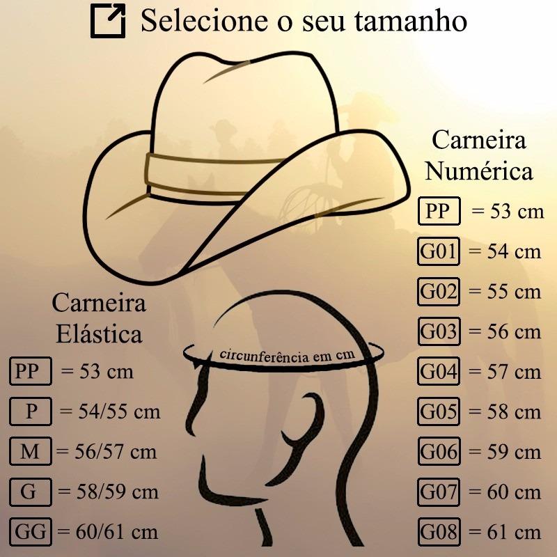 chapéu country pralana bull rider marrom - tamanho 59. Carregando zoom. d92d7e218d5