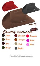 127b4817f9 Chapeu Rodeio Feminino Barato Chapeus Country - Bonés, Chapéus e ...