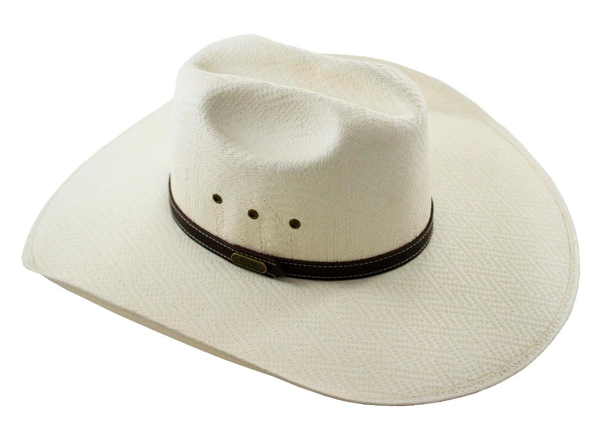5064d135cda5d Chapeu Country Rodeio Festa Peão Bege Claro - R  105,73 em Mercado Livre