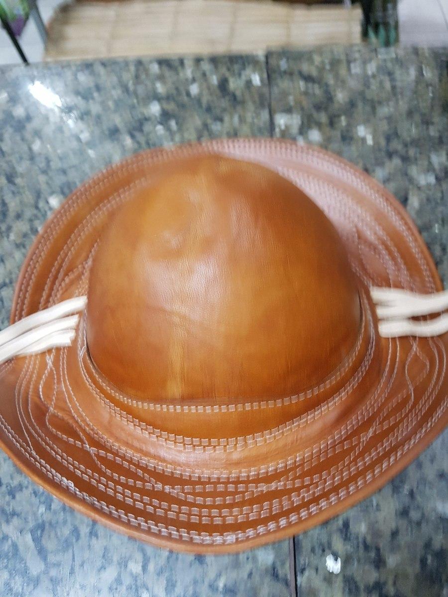 d66bd560af4be chapéu couro cangaceiro tamanho médio + frete grátis. Carregando zoom.