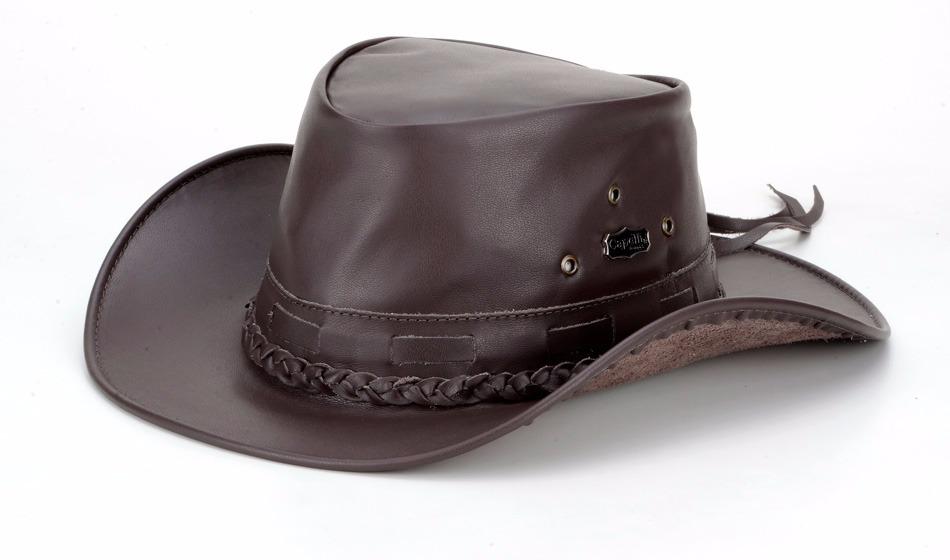 1da36d75ae5c8 chapeu couro legítimo boiadeiro cowboy country mala. Carregando zoom.