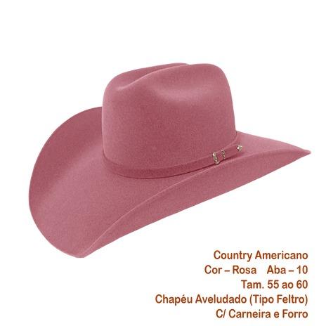 Chapéu Cowboy Country Rodeio Masculino E Feminino - R  63 68283f93f0c