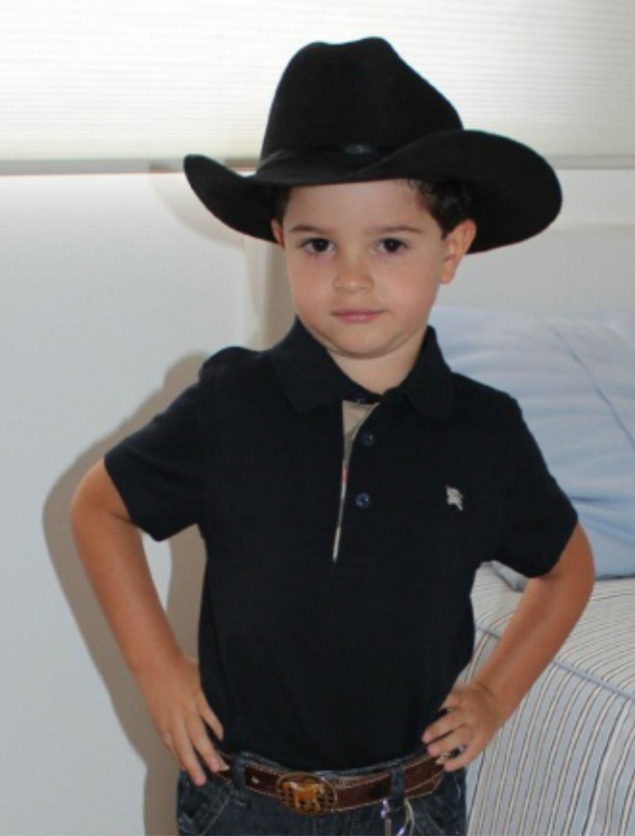 chapéu cowboy infantil country feltro ecológico festa. Carregando zoom. 1d333a1d477