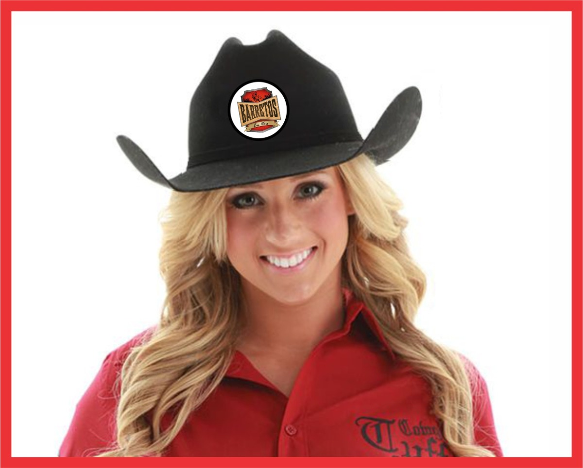 chapéu cowboy personalizado country festa rodeio. Carregando zoom. 8aa51b4a9f6