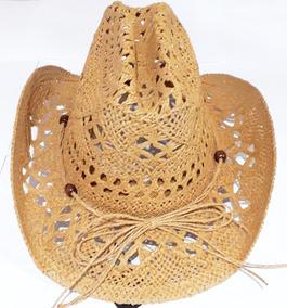 14b9e66f86 Chapeu De Praia Estilo Cowboy Com Furinho - Bonés, Chapéus e Boinas ...