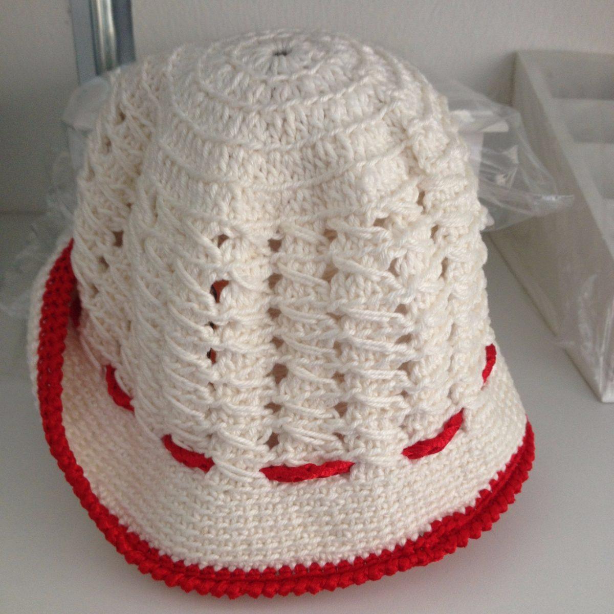 chapéu crochê infantil. Carregando zoom. 2761fd1ed14
