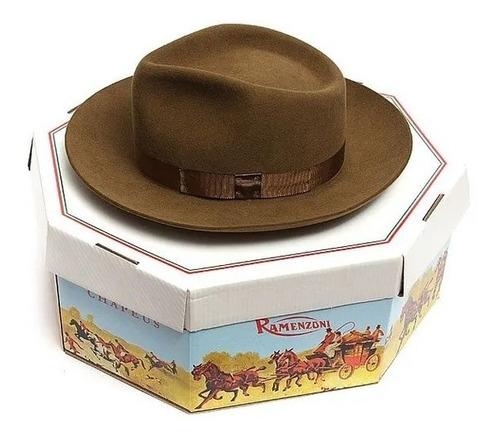 chapéu cury em pêlo de lebre