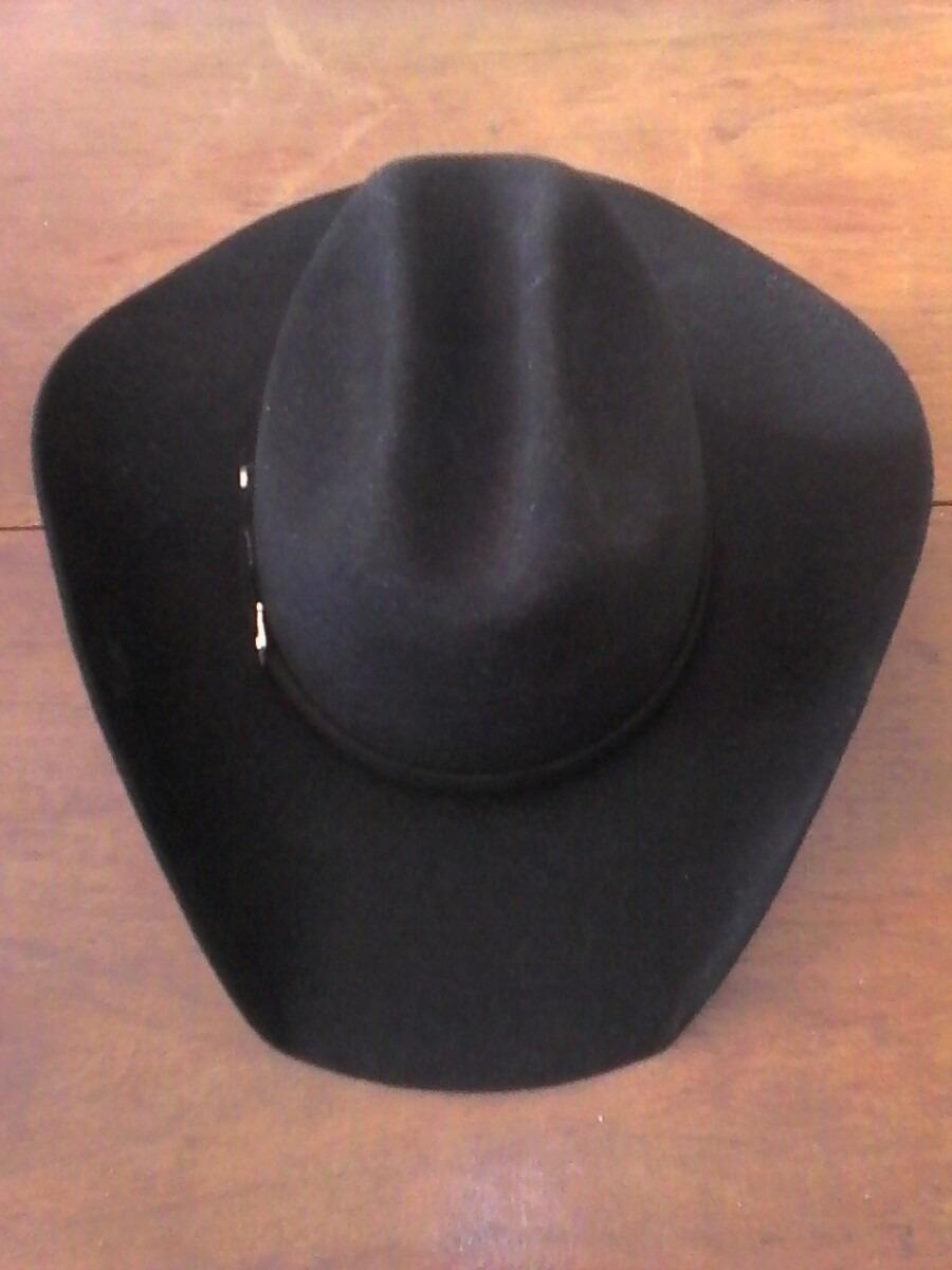 284374c645a4b chapéu cury pêlo e lã preto. Carregando zoom.
