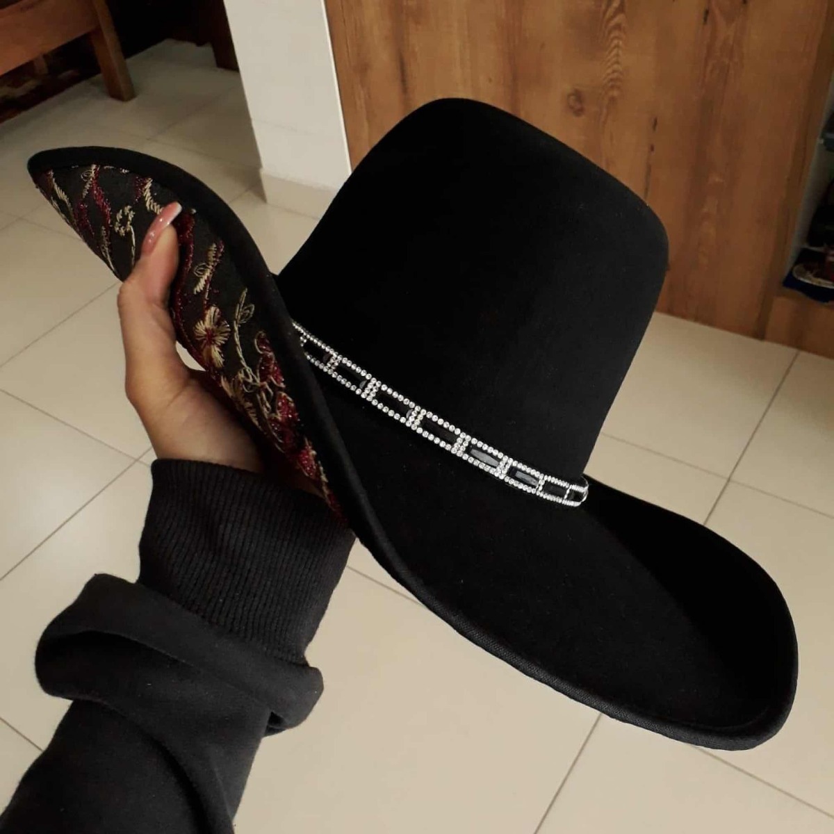 chapéu dallas bordado preto. Carregando zoom. 198e6c6a0b5