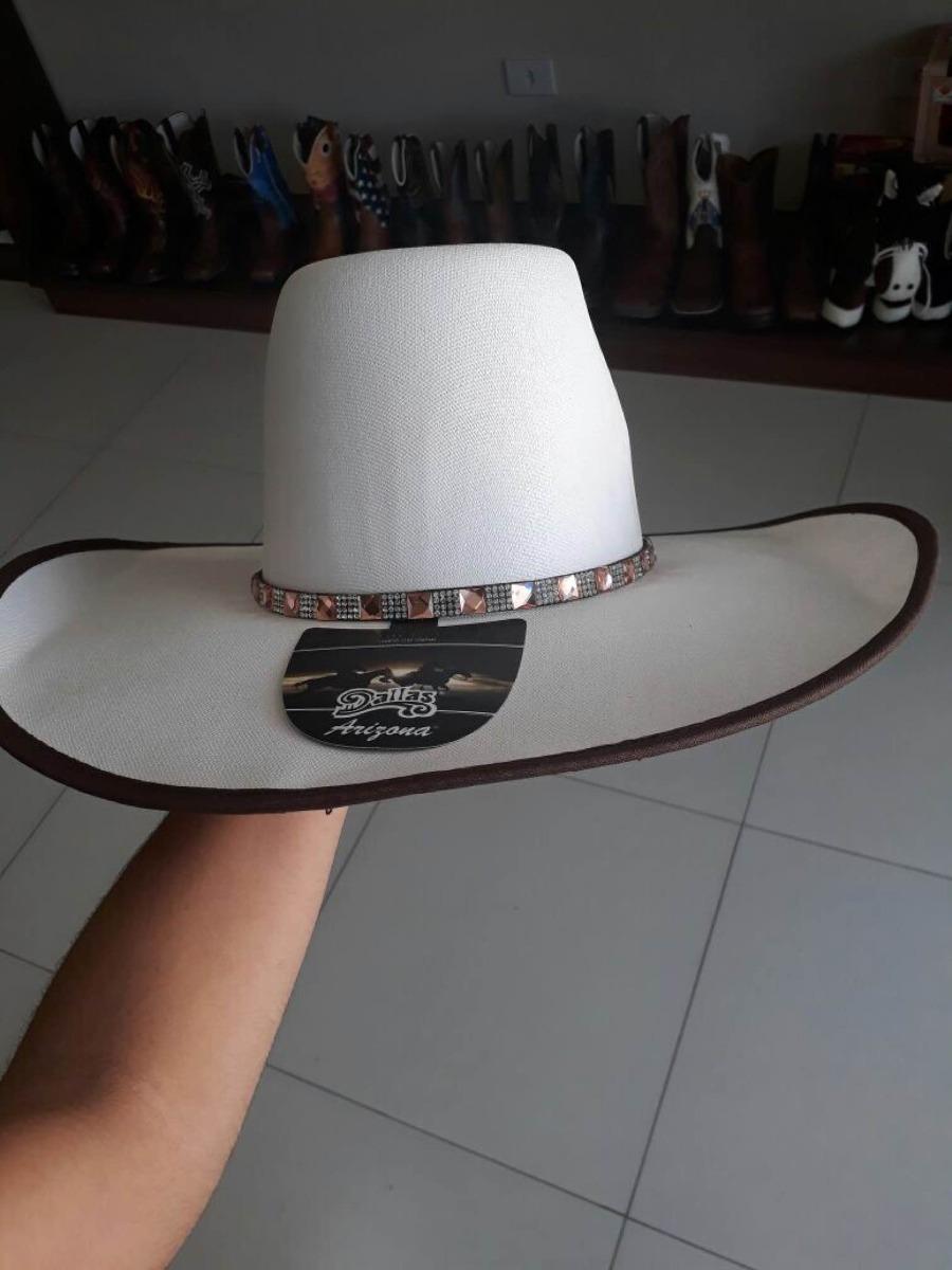 chapéu dallas branco com bordado dourado. Carregando zoom. de2de7f9106