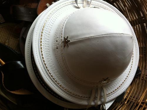 chapéu de couro rei do baião (top 100% couro)