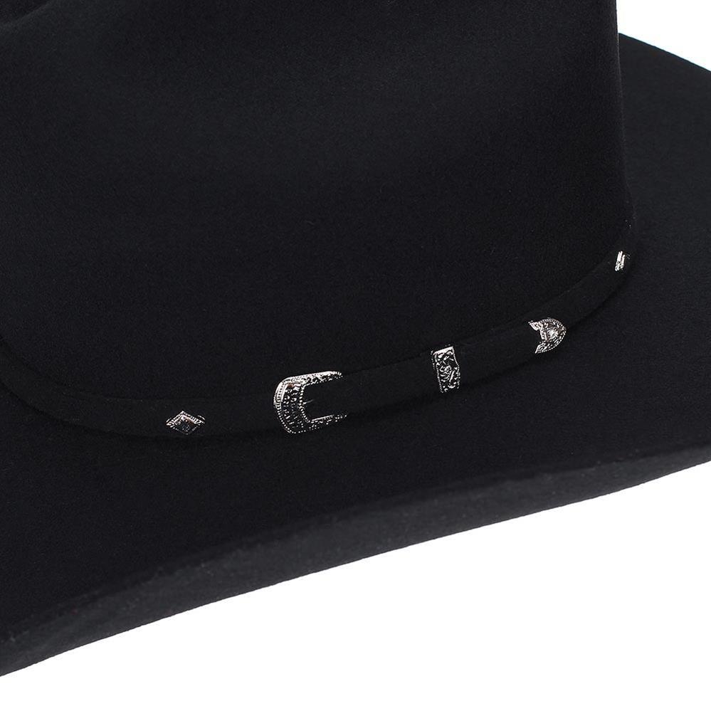 9fd750ff8f Chapéu De Cowboy Eldorado Company Em Feltro Classic Preto -