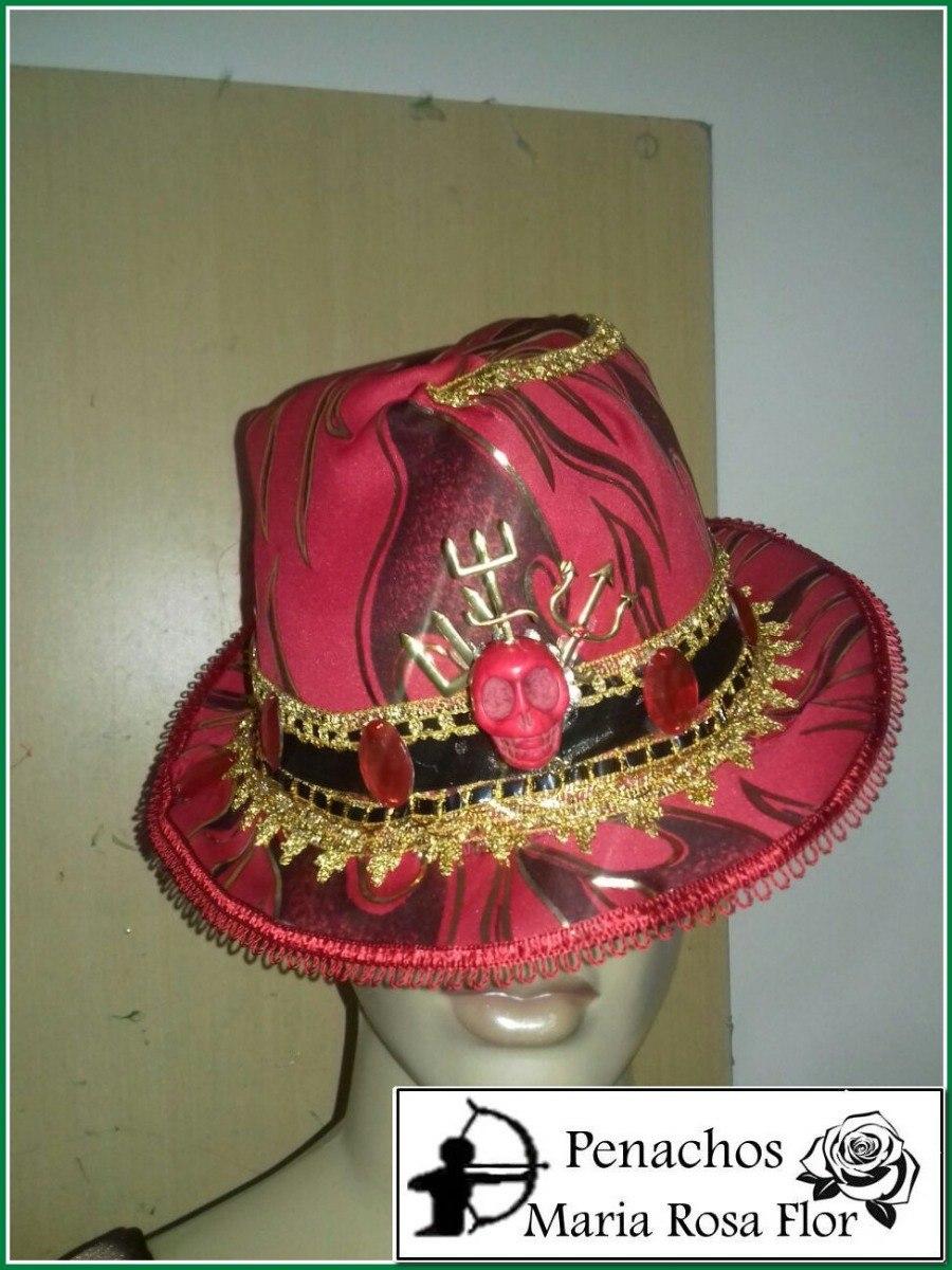 Chapéu De Exu Fogo (fazemos Personalizados) - R  120 dba78974b37