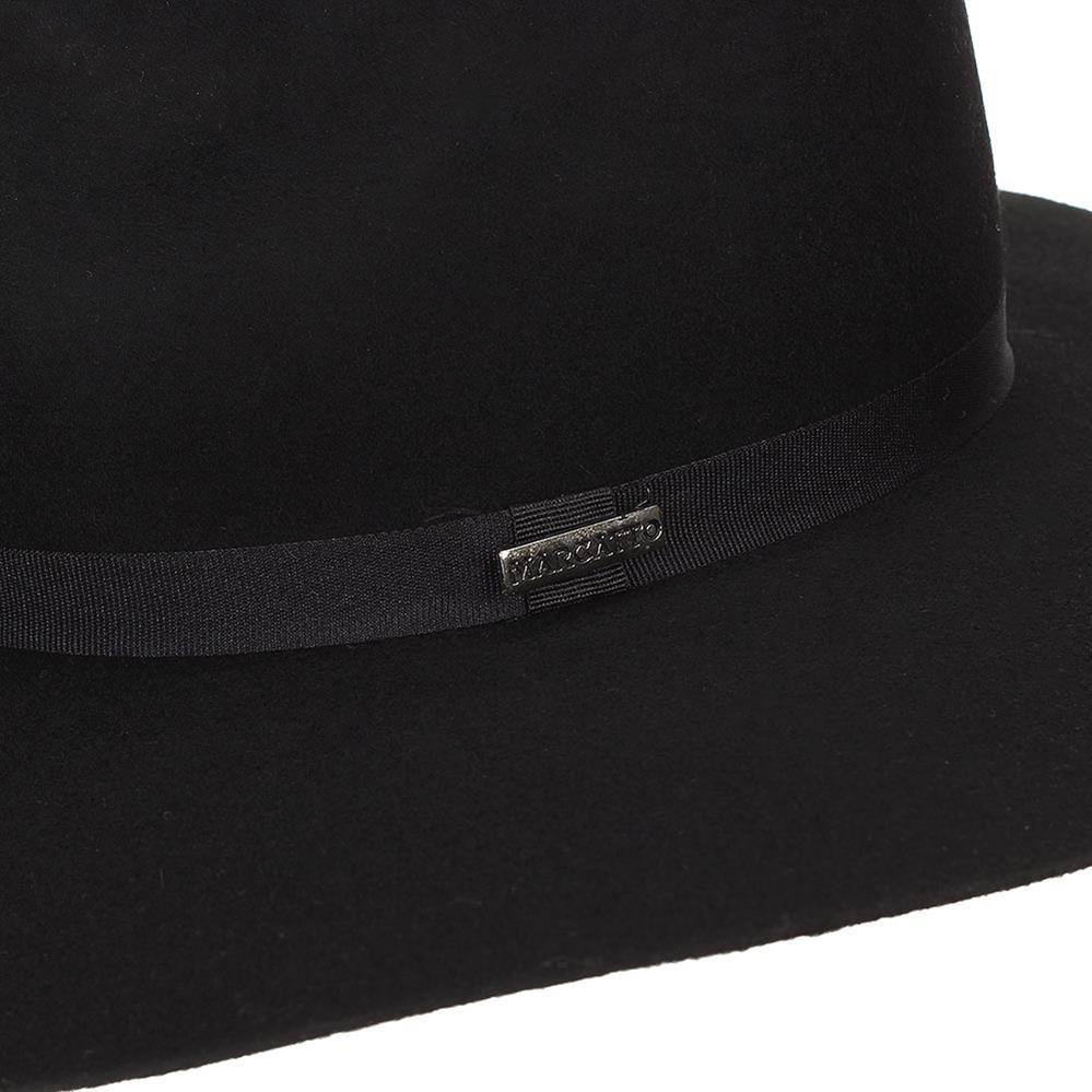 chapéu de feltro 100% lã preto - marcatto 18388. Carregando zoom. 30576327c3e
