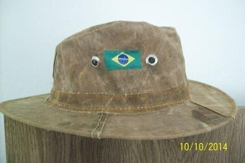 540a4e830c017 Chapéu De Lona Reciclada Por 18